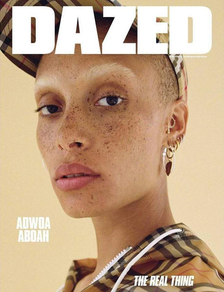 Adwoa Aboah measurements |
