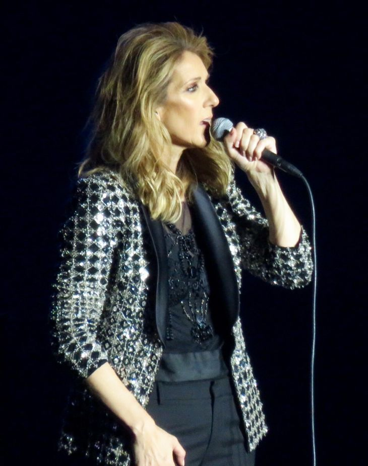 Céline Dion weight | By Egghead06 (Own work) [CC BY-SA 4.0 (https://creativecommons.org/licenses/by-sa/4.0)], via Wikimedia Commons