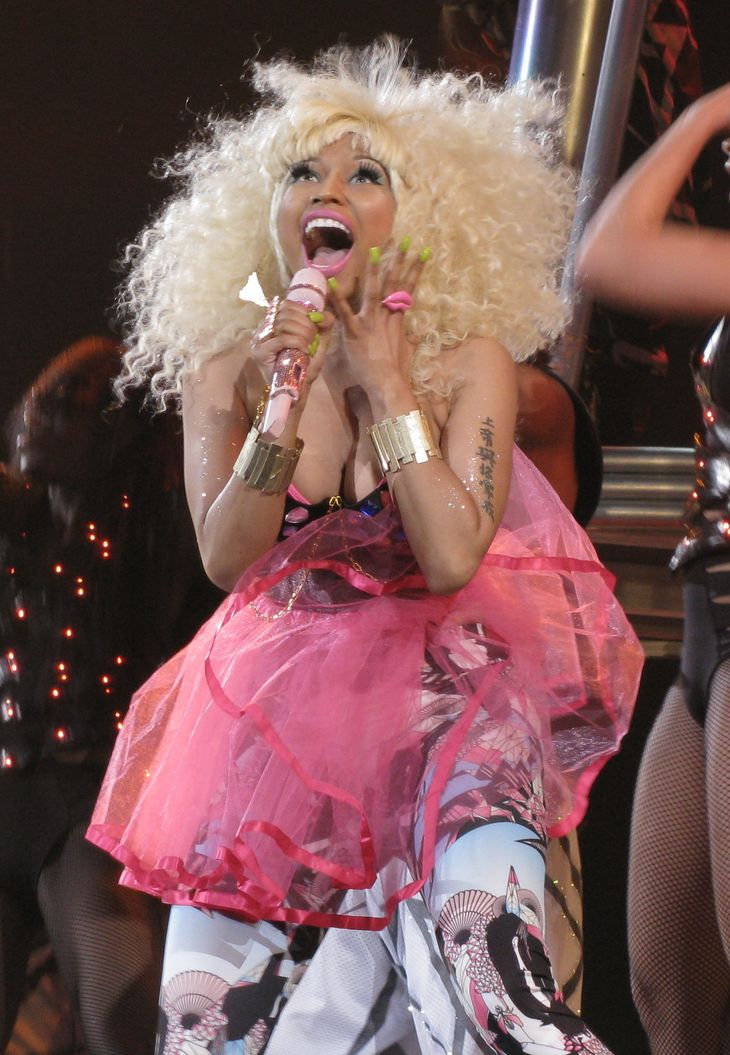 Nicki Minaj mensurations |