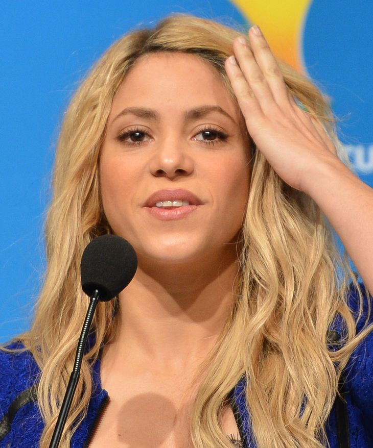 Shakira measurements |