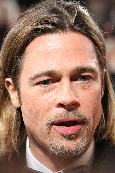 Brad Pitt misure | By Paul Bird (Brad Pitt) [CC BY 2.0 (http://creativecommons.org/licenses/by/2.0)], via Wikimedia Commons