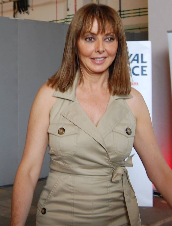 Carol Vorderman medidas | By 21stCenturyGreenstuff (Own work) [CC BY-SA 3.0 (https://creativecommons.org/licenses/by-sa/3.0)], via Wikimedia Commons