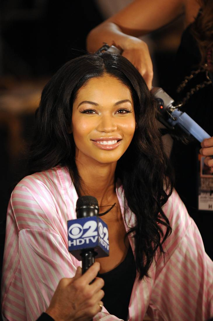 Chanel Iman mensurations | By Bryan Bedder (Emailed to uploader by copyright holder) [CC BY 3.0 (http://creativecommons.org/licenses/by/3.0)], via Wikimedia Commons