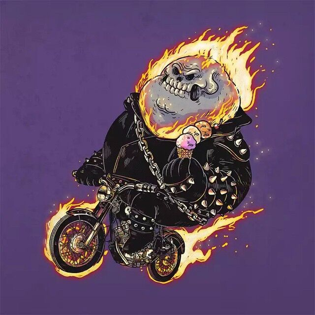 Chunky Ghost Rider