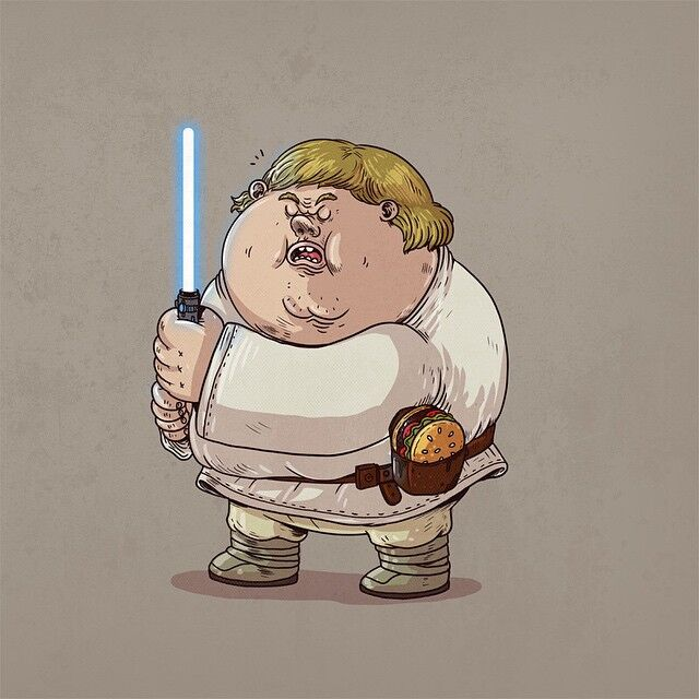 Chunky Luke Skywalker