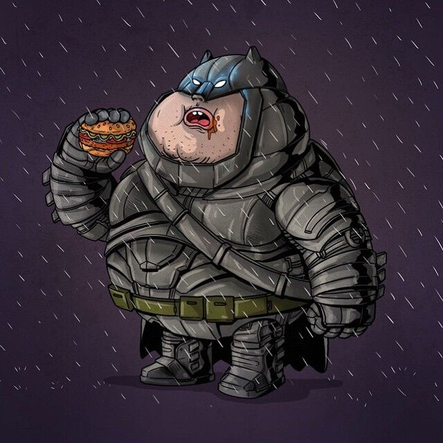 Chunky Metal Batsuit Batman