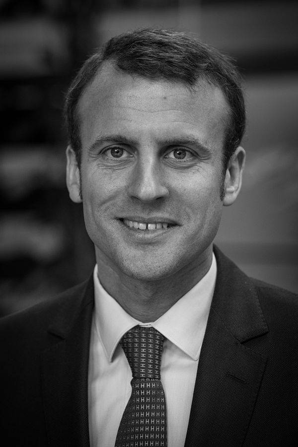 Emmanuel Macron Pomiary Claude Truong-Ngoc / Wikimedia Commons - cc-by-sa-3.0 [CC BY-SA 3.0 (https://creativecommons.org/licenses/by-sa/3.0)], via Wikimedia Commons