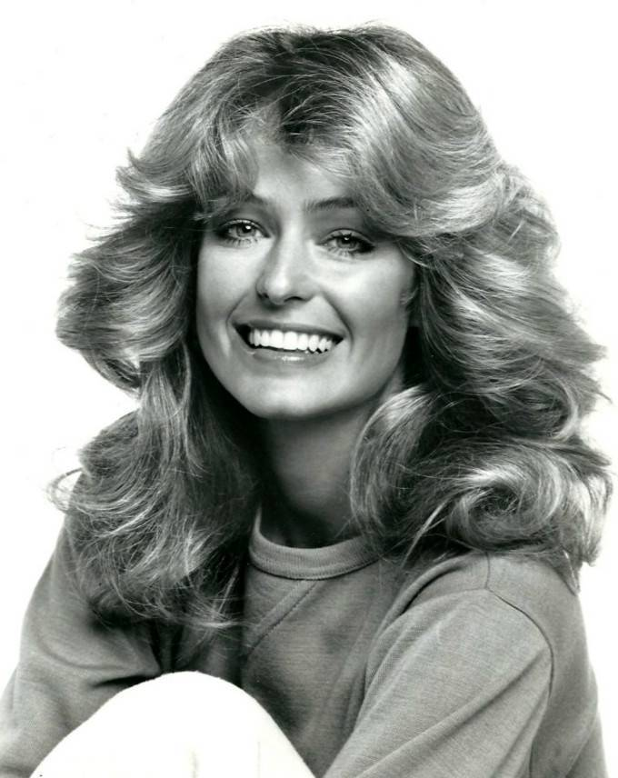 Farrah Fawcett medidas | By ABC Television (eBay item photo front photo back) [Public domain], via Wikimedia Commons