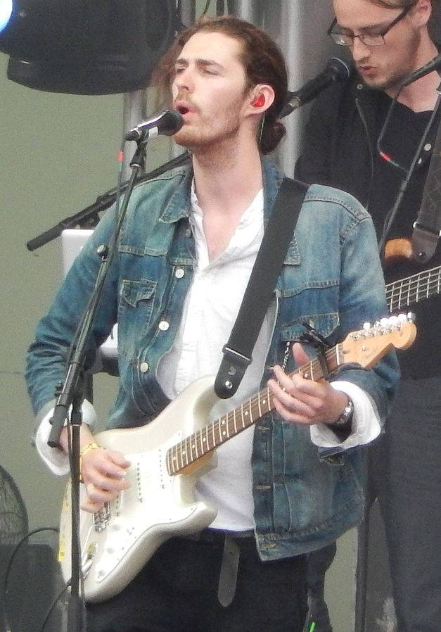 Hozier medidas | By swimfinfan from Chicago (Lollapalooza, Chicago 8/1/2014) [CC BY-SA 2.0 (https://creativecommons.org/licenses/by-sa/2.0)], via Wikimedia Commons