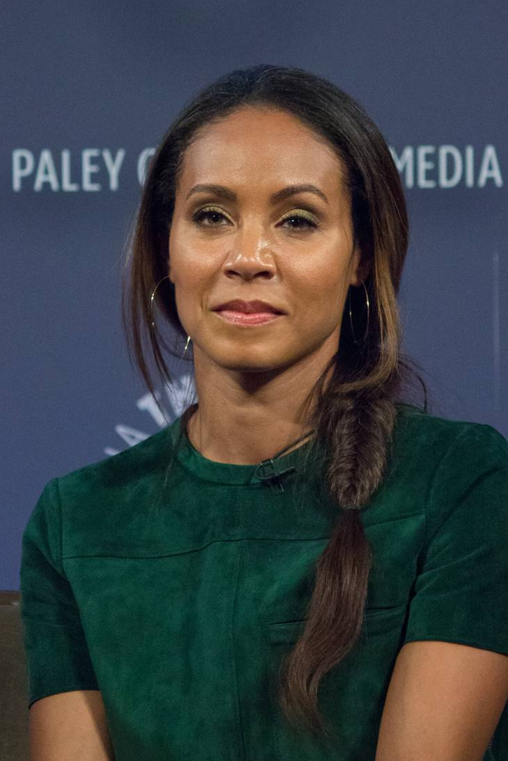 Jada Pinkett Smith medidas | By Dominick D [CC BY-SA 2.0 (https://creativecommons.org/licenses/by-sa/2.0)], via Wikimedia Commons