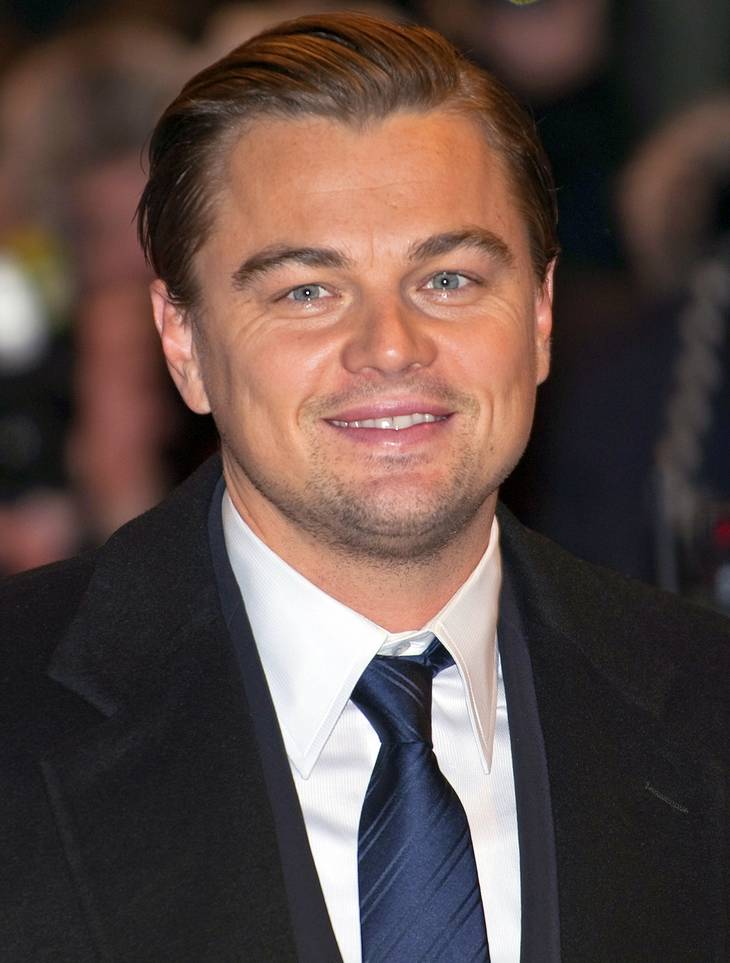 Leonardo DiCaprio'ın ölçümleri | By Siebbi (Leonardo DiCaprio) [CC BY 3.0 (http://creativecommons.org/licenses/by/3.0)], via Wikimedia Commons