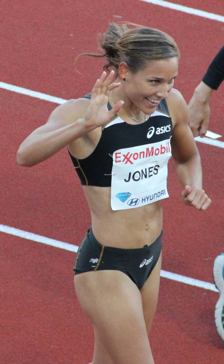 Lolo Jones taille | By Chell Hill (Own work) [CC BY-SA 3.0 (https://creativecommons.org/licenses/by-sa/3.0) or GFDL (http://www.gnu.org/copyleft/fdl.html)], via Wikimedia Commons