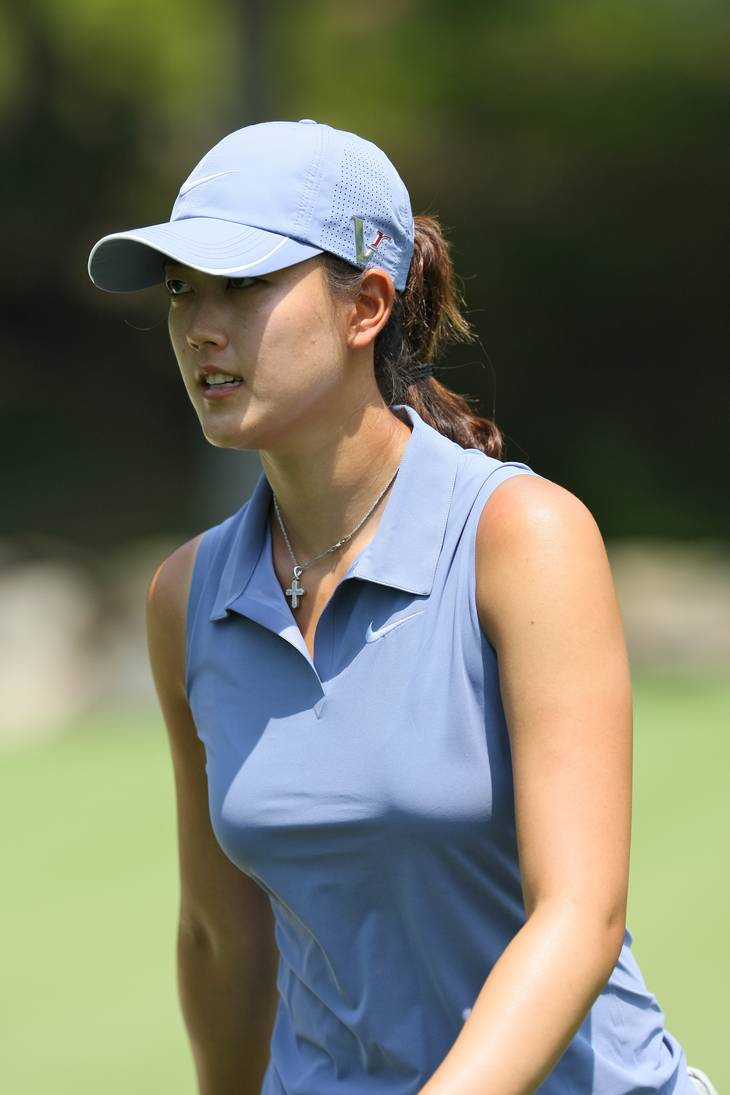 Michelle Wie peso | By Keith Allison from Owings Mills, USA (Michelle Wie) [CC BY-SA 2.0 (https://creativecommons.org/licenses/by-sa/2.0)], via Wikimedia Commons