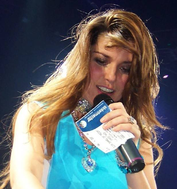 Shania Twain peso | By Jerry Daykin from Cambridge, United Kingdom (Flickr) [CC BY 2.0 (http://creativecommons.org/licenses/by/2.0)], via Wikimedia Commons