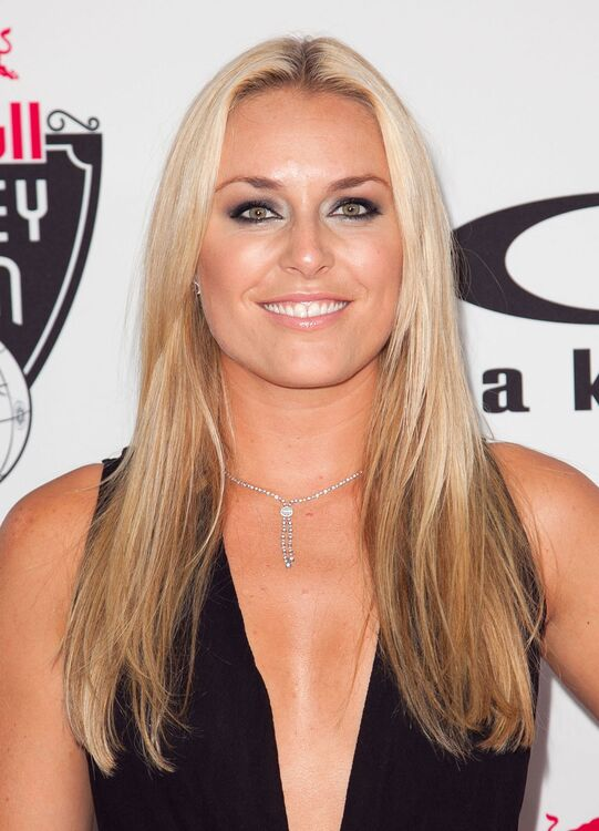 Lindsey Vonn mensuration