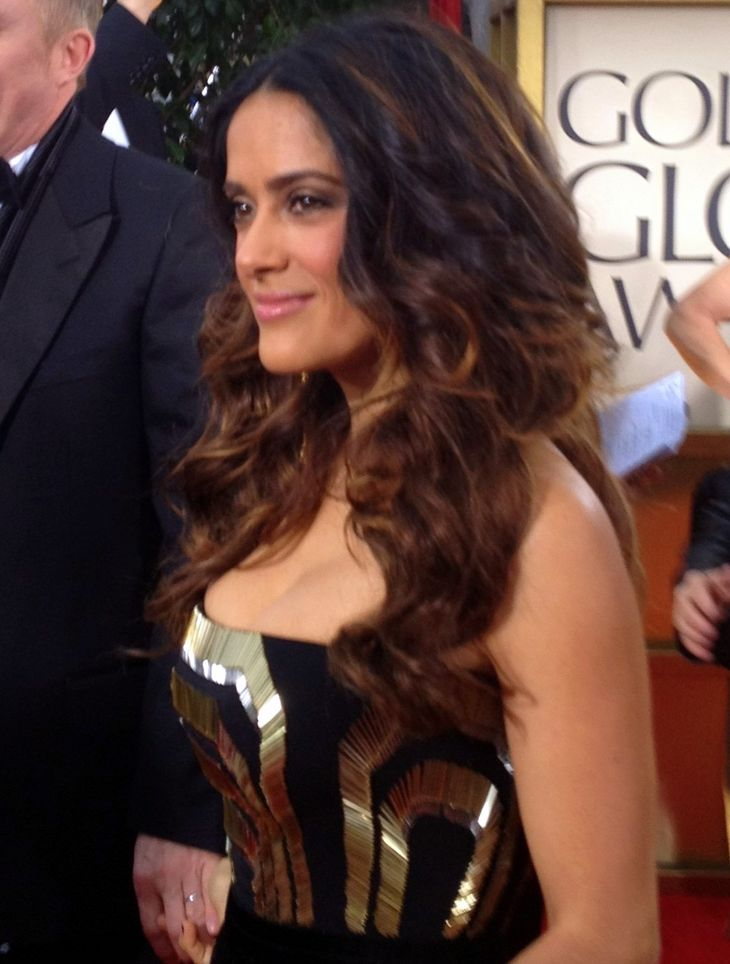Сальма Хайек Markle | By Jenn Deering Davis (Salma Hayek) [CC BY 2.0 (http://creativecommons.org/licenses/by/2.0)], via Wikimedia Commons